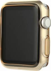 Husa Slim din plastic Apple Watch 42mm Aurie