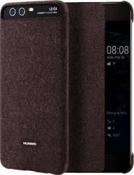 Husa Smart View Pentru Huawei P10 Maron