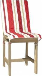 Husa spatar scaun BBC 47x100 cm - Dungi Rosii Accesorii bucatarie