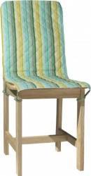 Husa spatar scaun BBC 47x100 cm - Dungi Verzi Accesorii bucatarie
