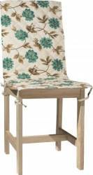 Husa spatar scaun BBC 47x100 cm - Flori Albastre Accesorii bucatarie