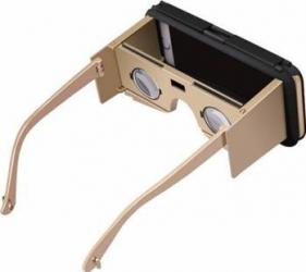 Husa Star VR Case II Cu Ochelari Inteligenti pentru iPhone 6-6s Negru-Auriu Gadgeturi