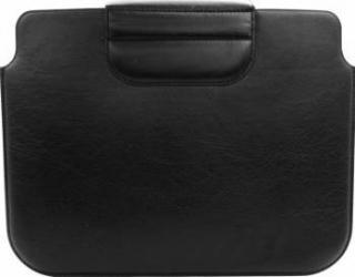 Husa Tableta 10 Tellur Sleeve - Piele Neagra Huse Tablete