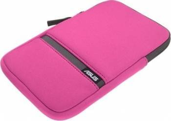 Husa Tableta 7 Asus Zippered Sleeve Universala Pink huse tablete