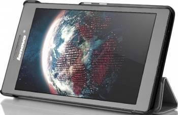 Husa Tableta Flip OEM Lenovo Tab 2 Arvin A7-30 Neagra Huse Tablete