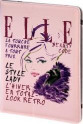 Husa Tableta Hama Elle Lady in Pink Universala 10.1inch Pink Huse Tablete