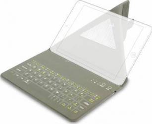 Husa Tableta Kit cu Tastatura Bluetooth Universala Black Tablete 9-10 Inch Huse Tablete