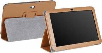 Husa Tableta Kruger Matz 10.1 inch Brown Huse Tablete