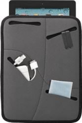 Husa Tableta Trust Multi-Pocket Soft 10 Grey Huse Tablete