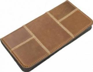 Husa Tellur Magnetic Samsung S7 Edge Patchwork Maro huse telefoane