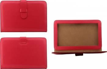 Husa Universal 7inch Rosu Huse Tablete