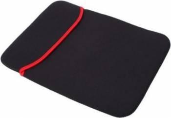 Husa Universala OEM Pentru Tableta-Laptop Pouch 14 inch Neagra Genti Laptop