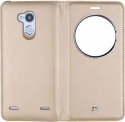 Husa View Flip Cover ZTE Pentru ZTE Blade V7 Lite Aurie