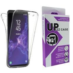 cf8045cf7a8 Husa 360 Grade Full Cover Upzz Case Silicon Samsung A7 2018 Transparenta  Huse Telefoane
