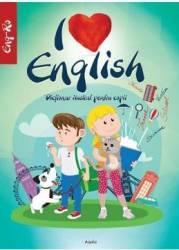 I Love English. Dictionar ilustrat pentru copii englez-roman