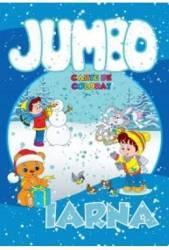 Iarna - Jumbo carte de colorat