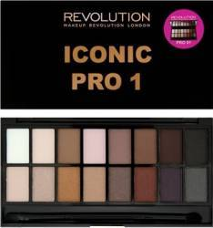 Paleta de culori Makeup Revolution London Iconic - Pro 1 Make-up ochi