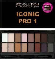 Paleta de culori Makeup Revolution London Iconic - Pro 1