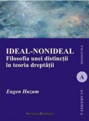 Ideal-nonideal. Filosofia unei distinctii in teoria dreptatii - Eugen Huzum Carti