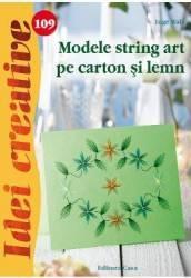 Idei Creative 109 - Modele String Art Pe Carton Si