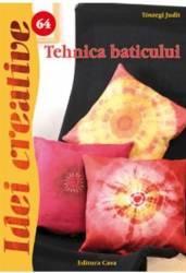 Idei creative 64 - Tehnica baticului - Toszegi Judit