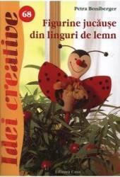 Idei creative 68 - Figurine jucause din linguri de lemn - Petra Boniberger