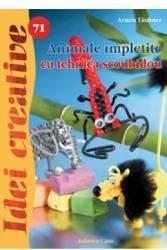 Idei creative 71 - Animale impletite cu tehnica scoubidou - Armin Taubner