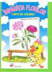 Imparatia Florilor. Carte de colorat - Elena Lescu