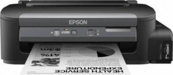 Imprimanta cu Jet Monocrom Epson WorkForce M100 Retea A4