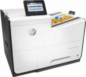 Imprimanta cu Jet Color HP PageWide Enterprise Color 556dn Duplex Retea