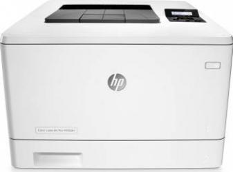 Imprimanta Laser Color HP Color LaserJet Pro M452dn Duplex Retea A4 Imprimante Laser