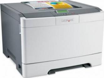 Imprimanta Laser Color Lexmark C543DN Duplex Retea A4 Refurbished Imprimante, Multifunctionale Refurbished