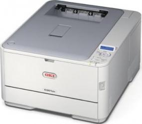 Imprimanta Laser Color OKI C301DN Duplex Retea A4