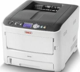 Imprimanta Laser Color Oki C612n Retea A4 Imprimante Laser