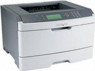 Imprimanta Laser Monocrom Lexmark E462DN Duplex Retea A4 Refurbished Imprimante, Multifunctionale Refurbished