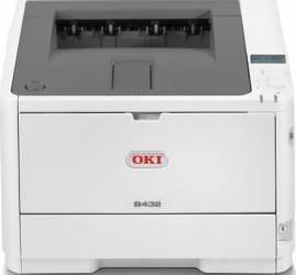 Imprimanta Laser Monocrom OKI B432dn Duplex A4 Imprimante Laser