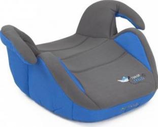 Inaltator auto copii 15-36 kg MyKids Junior Travel albastru Scaune auto si inaltatoare