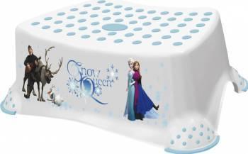 Inaltator pentru baie Lorelli antiderapant cu personaje Disney Frozen White Olite si reductoare WC