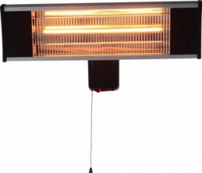 Incalzitor electric Heinner VITG010 1500 W Lampa carbon IP 65 Aparate de incalzire