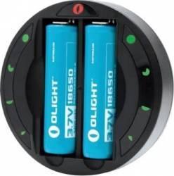 Incarcator 2 sloturi Olight OMNI-DOK universal Li-Ion