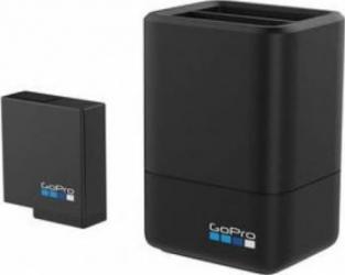pret preturi Incarcator acumulatori dublu GoPro + Baterie pentru HERO5 Black