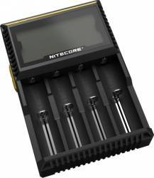 Incarcator acumulatori Nitecore Digicharger D4 Acumulatori Baterii Incarcatoare