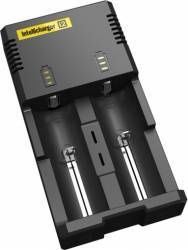 Incarcator acumulatori Nitecore Intellicharger i2 Acumulatori Baterii Incarcatoare