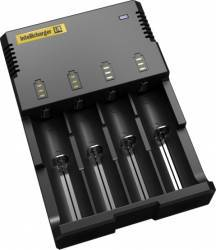 Incarcator acumulatori Nitecore Intellicharger i4 Acumulatori Baterii Incarcatoare