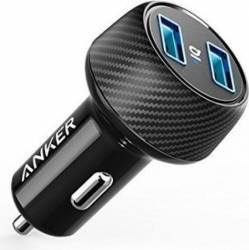 pret preturi Incarcator auto Anker PowerDrive 2 Elite 2xUSB Negru
