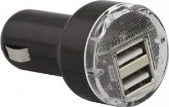 Incarcator Auto Esperanza 2 x USB 5V 2100mA EZ108