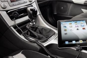 Incarcator auto Hama iPad Negru