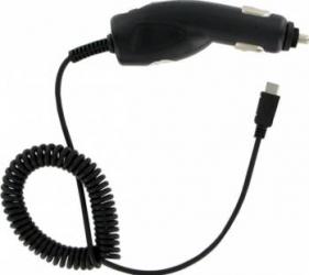Incarcator auto Kit Universal microUSB 500mAh Black