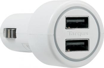 Incarcator Auto Targus pentru Tablete si Telefoane Mobile 2xUSB APD0502 Incarcator