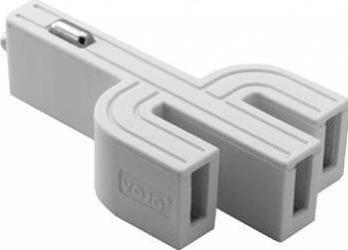 Incarcator Auto Vojo Cactus 3 x USB 3.1A Alb Incarcatoare Auto